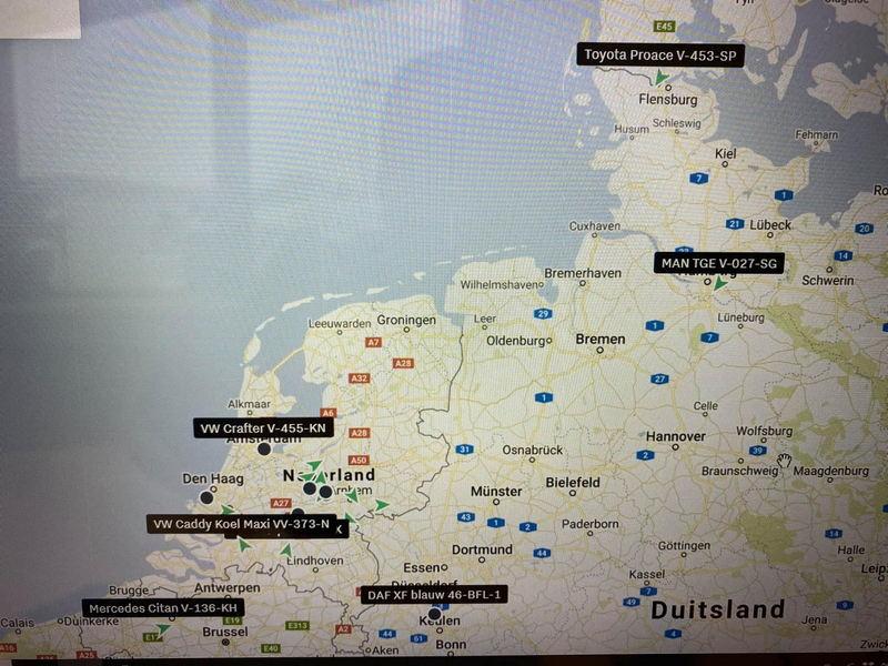 Kaart nederland planning